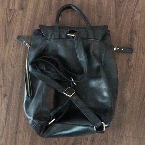 e6bf0df4afd Aldo Bags - ALDO Black Leather Women s Backpack